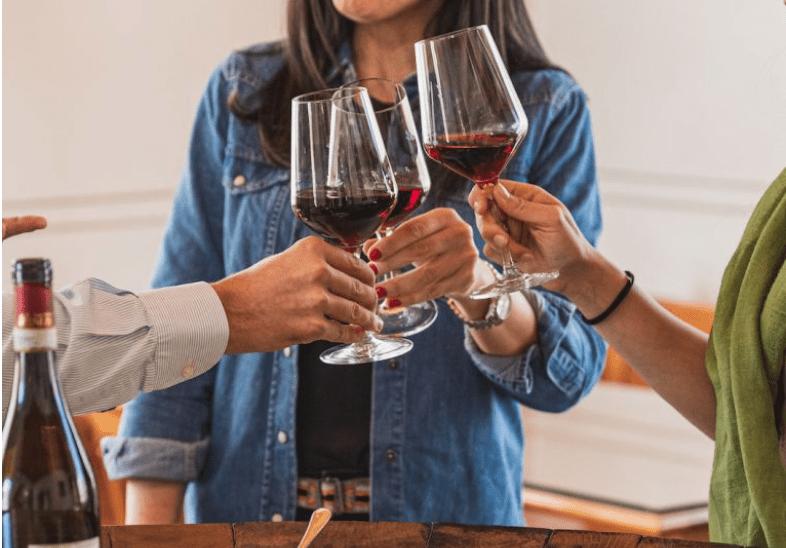 degustazione wine and food in valtellina