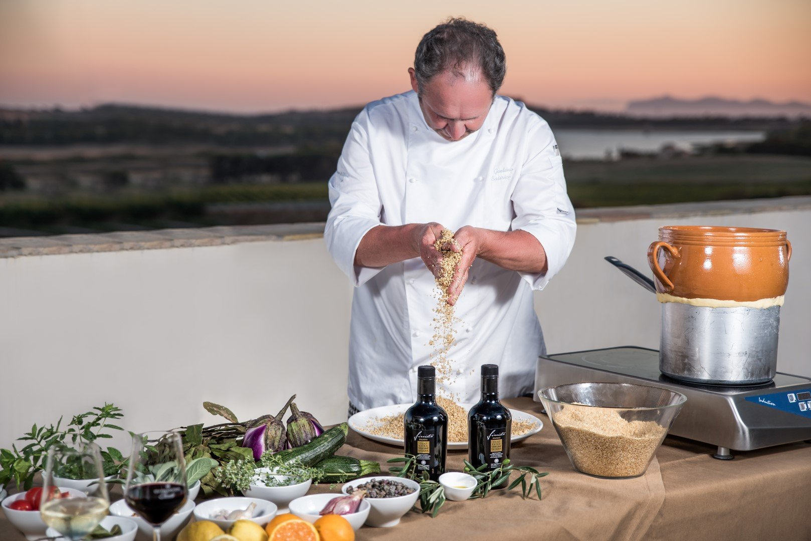 cooking class cantina firriato