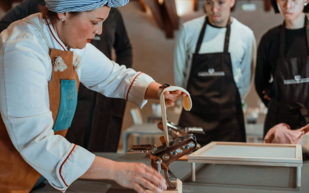 tommasi-corso di cucina e tour in cantina
